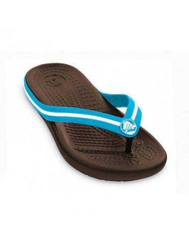 ufficiale comprare in vendita miglior prezzo Crocs Crocband flip switch kids ciabatta mare bambino BROWN ...