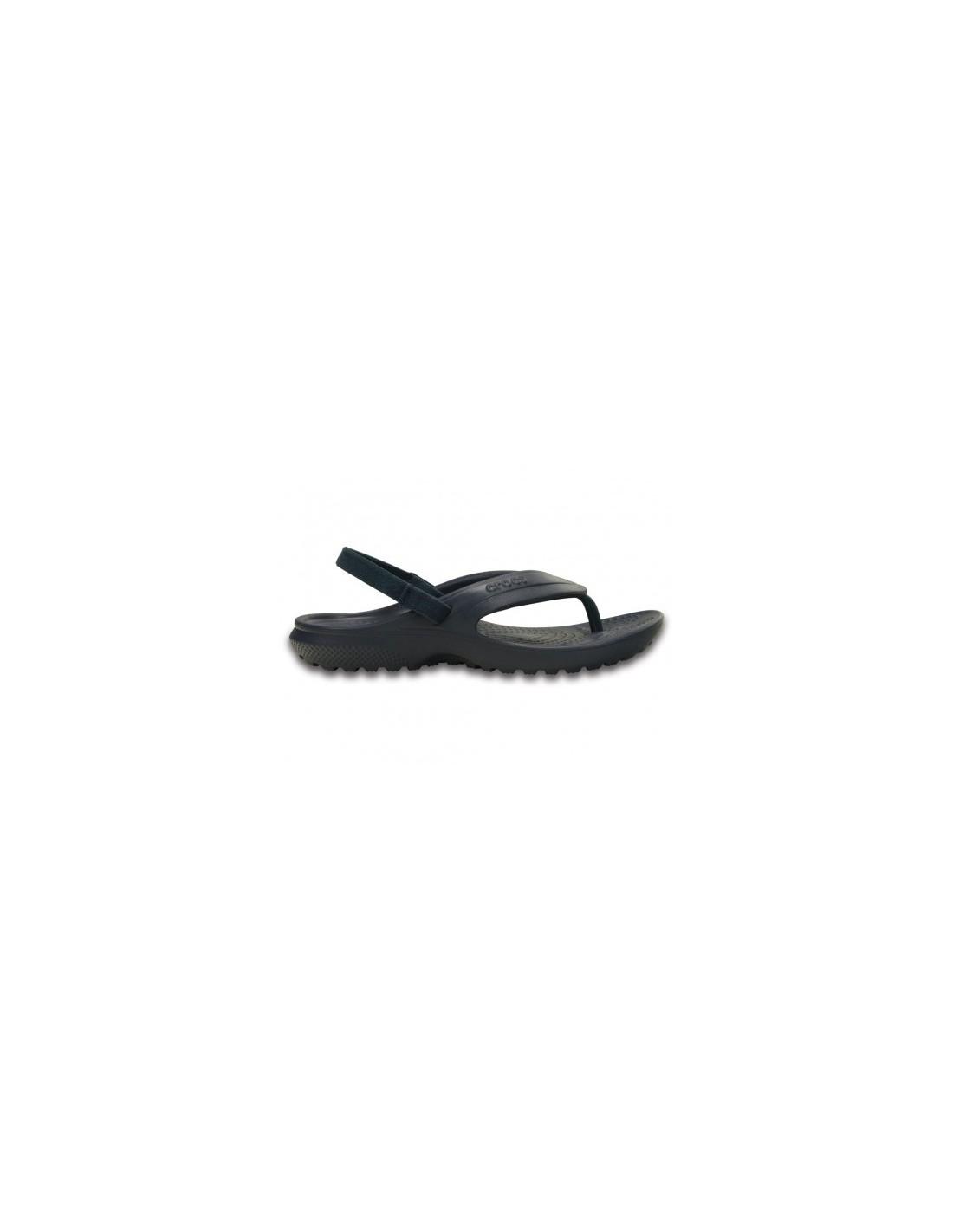 ufficiale colori delicati negozio ufficiale Crocs Classic Flip blu infradito mare bambino con elastico 202871-410