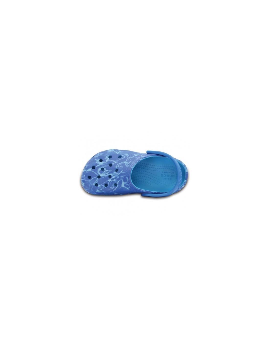 Graphic Crocs Classic Bambino Mare Sandali Azzurro 80PwknXO