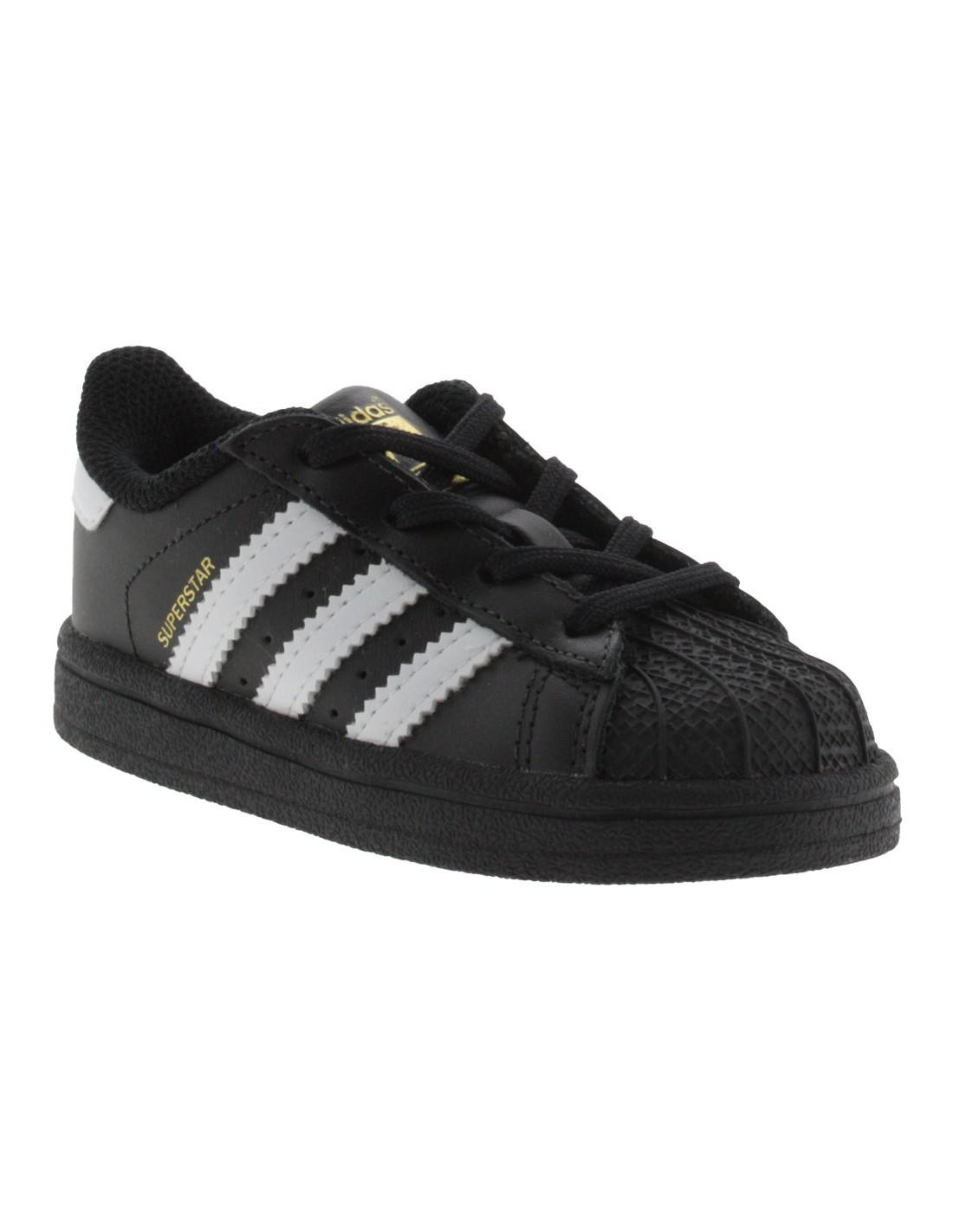 ... Scarpe Adidas Superstar I bambino nero. Prezzo scontato