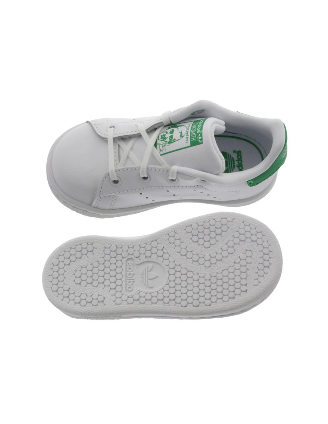 Scarpe Adidas Stan Smith bambino primi passi bianco e fucsia