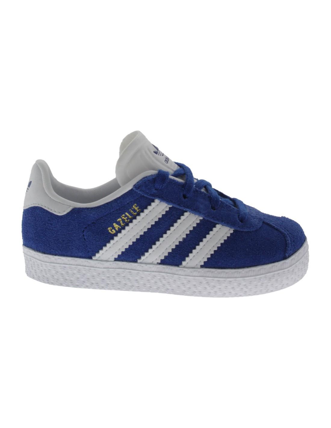 Adidas Gazelle Scarpe Blu Passi Primi Bambino I67yYgmfbv