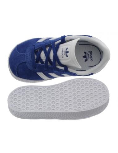 Scarpe Passi Bambino Blu Primi Adidas Gazelle Nwvm0O8n