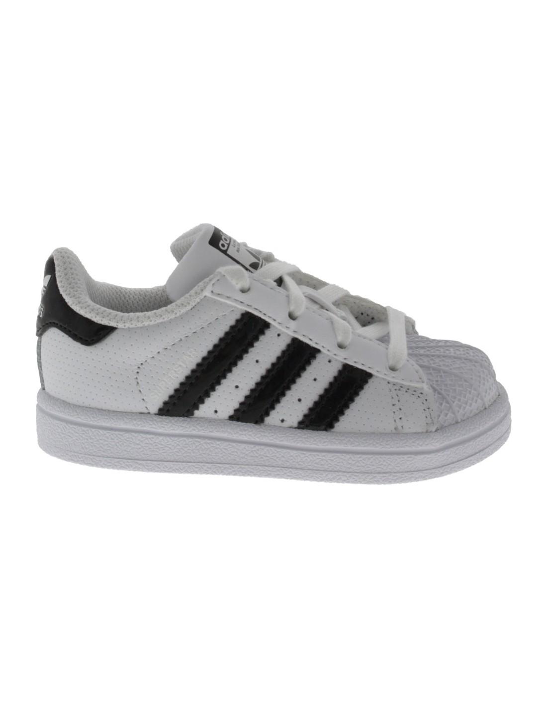 Scarpe Adidas Superstar bambino primi passi bianco e nero 5def18d6fc7