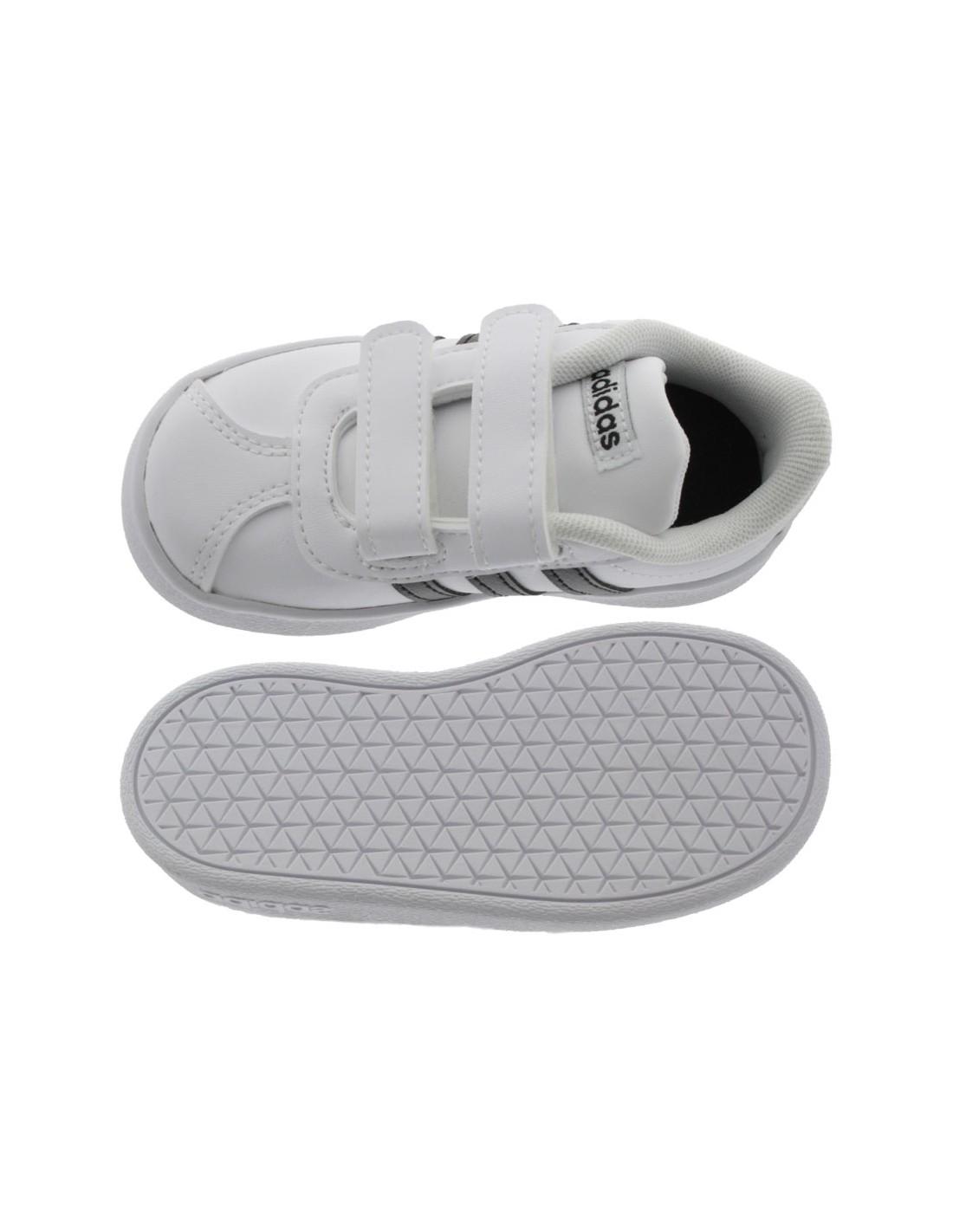 more photos 70fb5 1f446 Scarpe Adidas Vl Court 2.0 bambino primi passi bianco