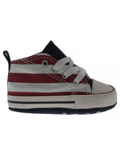 Scarpe Converse Ct As First star hi neonato bianco