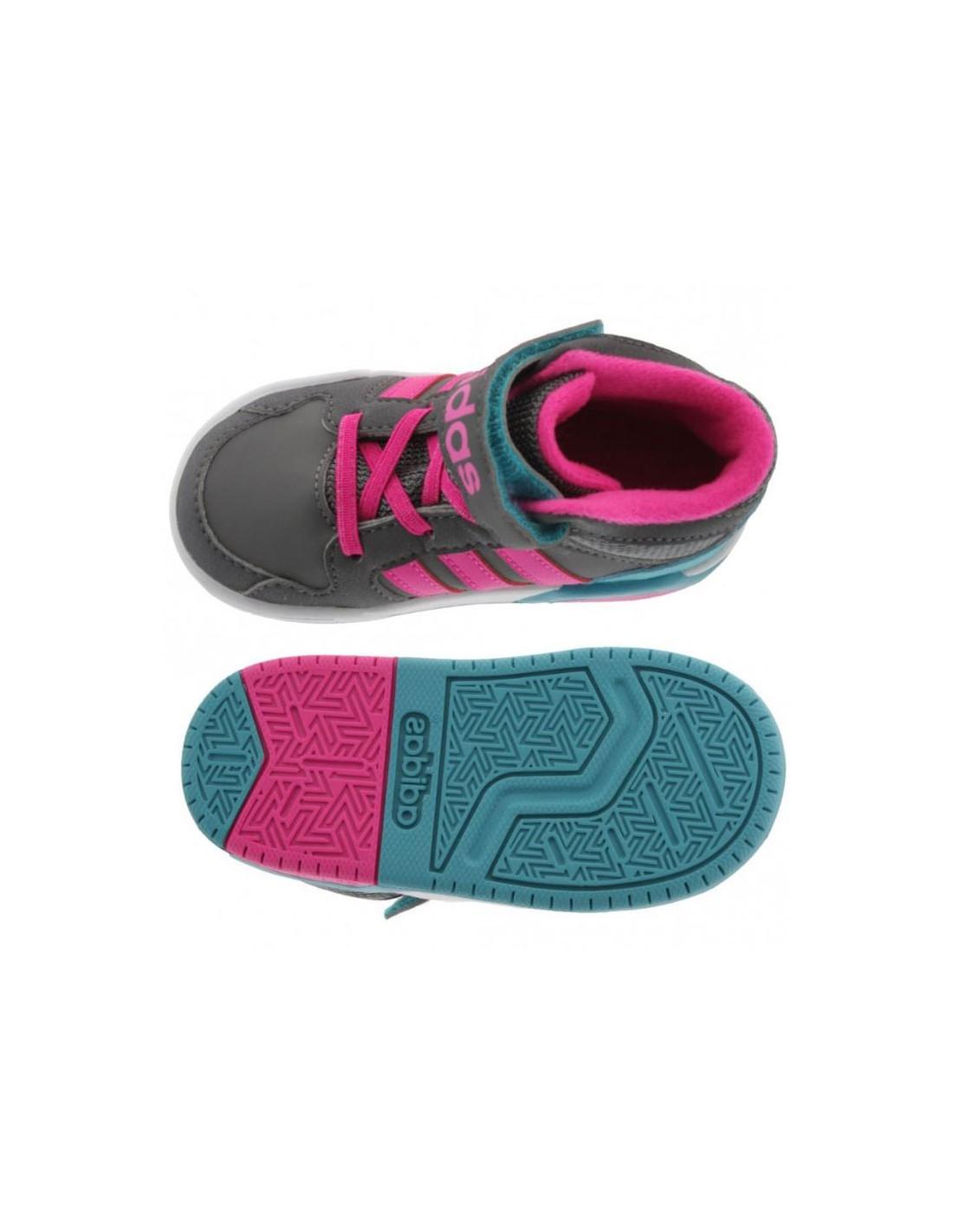 outlet store 38066 34395 primi fucsia Neo Scarpe passi Adidas bambina 4qSwft