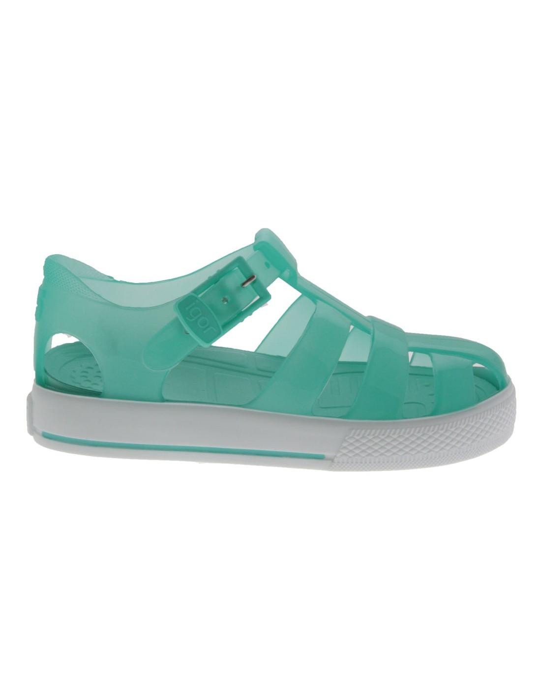 Verde Sandalo Tenis Bambino Igor Bambina 3L54AjqR