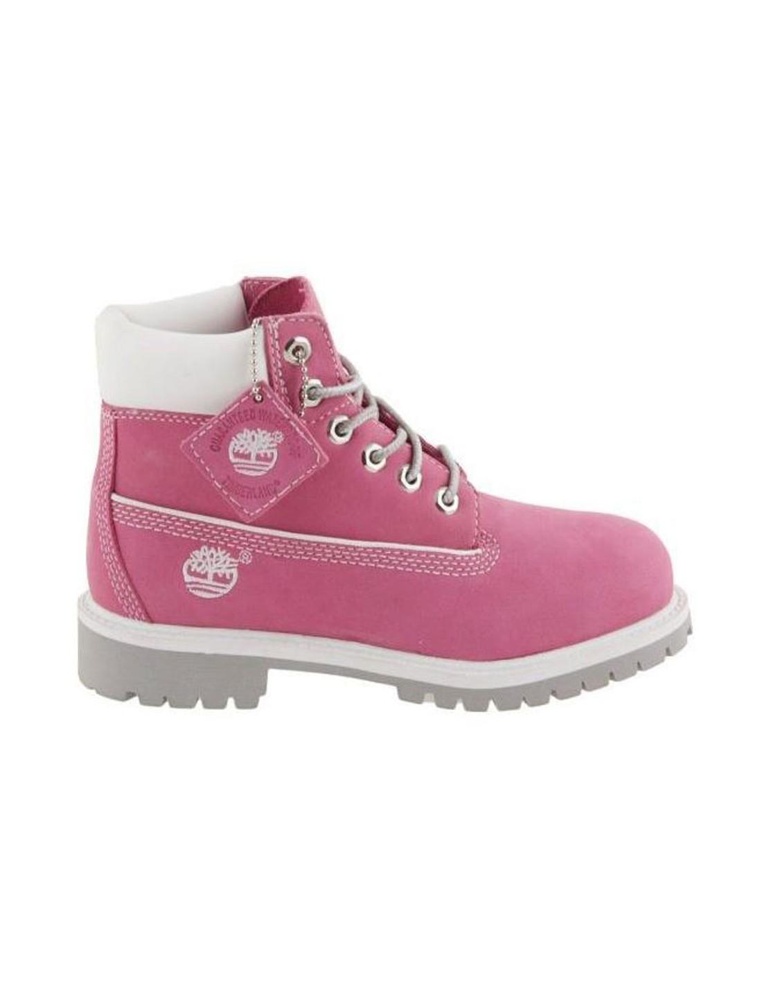 timberland bambina rosa