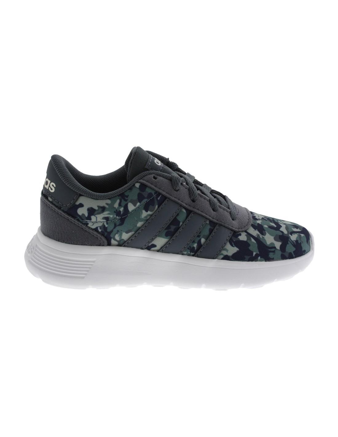 buy online 0b4c3 3101c Scarpe Adidas Lite Racer K bambino grigio scuro
