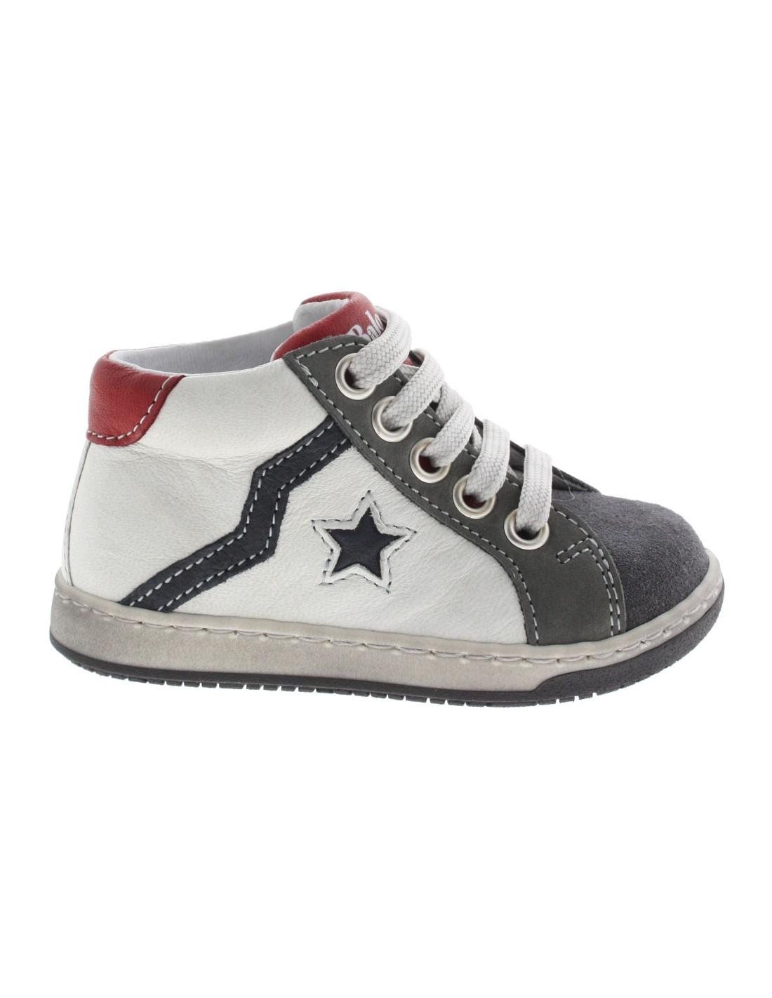 low priced 90886 7a539 Scarpe Balocchi Mini star bambino primi passi bianco