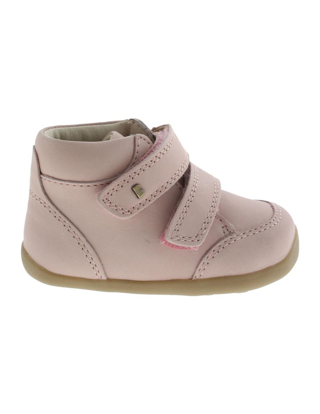 nuovi oggetti nuova collezione morbido e leggero Scarpe Bobux bambina primi passi Timber boot rosa