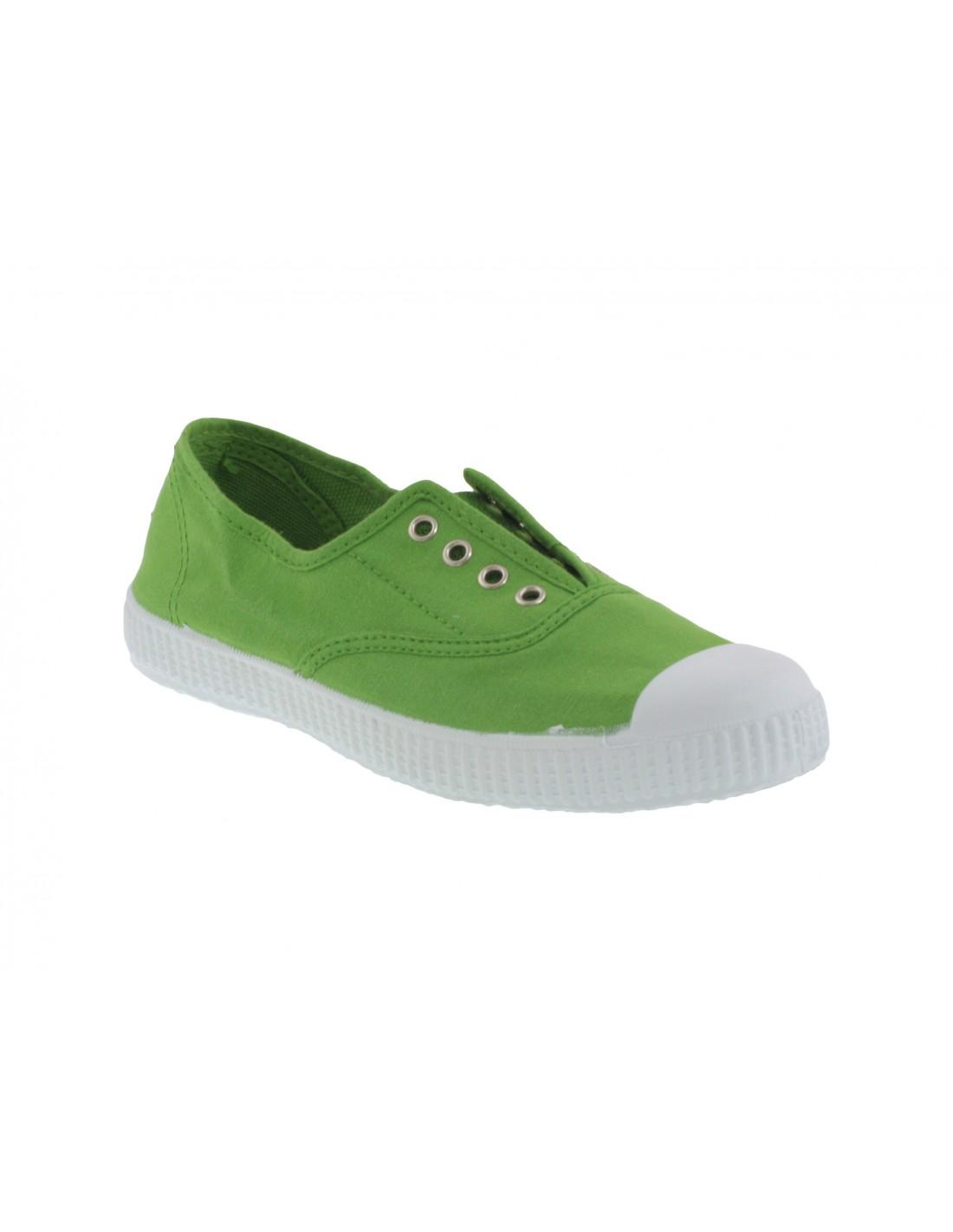 huge discount dfbdd 67729 Scarpe estive bambino Cienta slip on verde