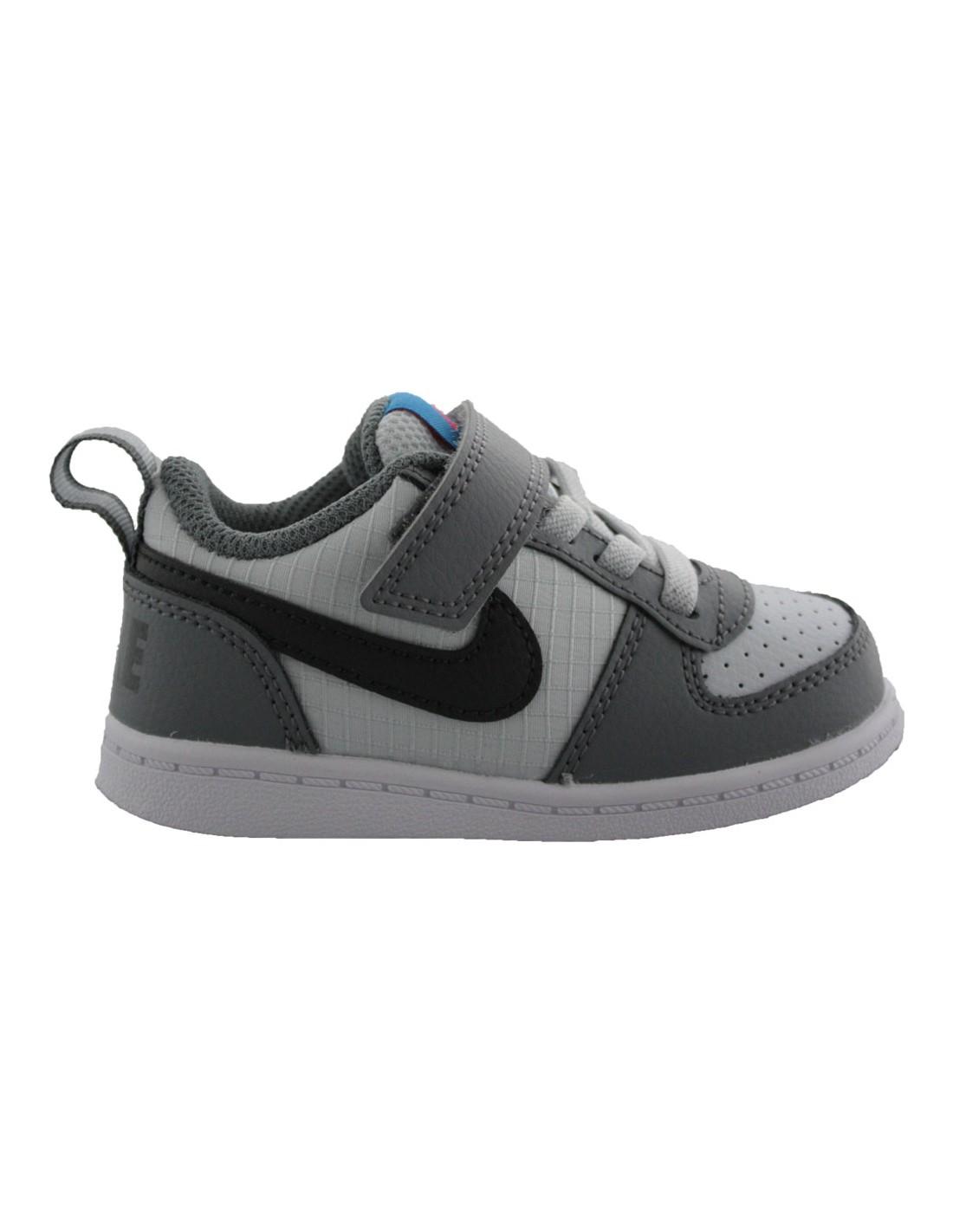 detailing cb987 c2fbc Scarpe Nike Court Borough Low bambino primi passi grigio