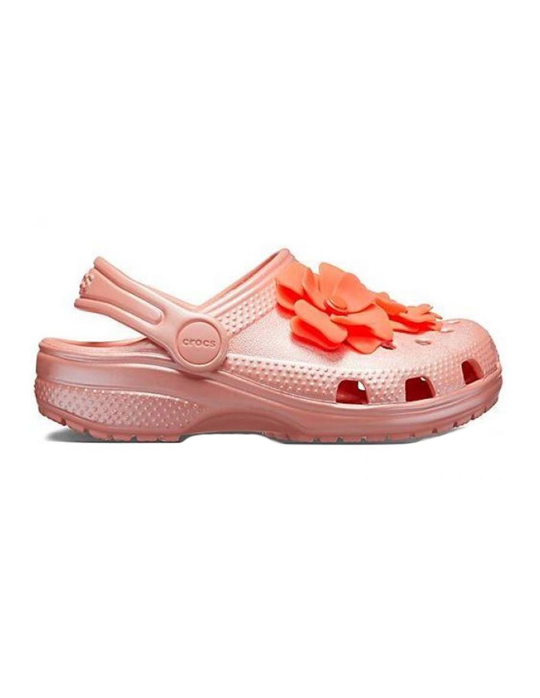 Blooms Rosa Clog Crocs Bambina Sandalo LA453Rj