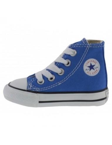 Scarpe Converse All star hi bambino primi passi blu chiaro