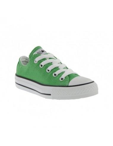 converse alte bambino verde